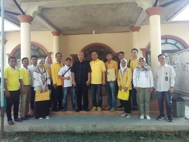 Targetkan Menang Pemilu 2019, Golkar PALI Daftarkan 25 Bacaleg