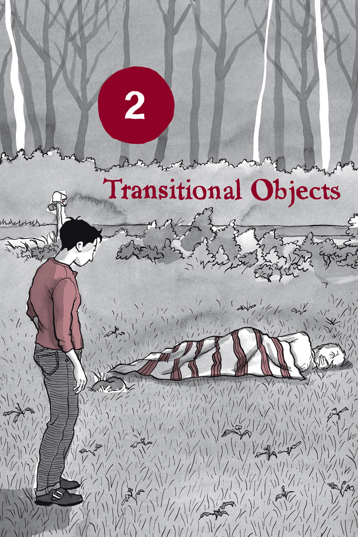 Page 1, Chapter 2: Transitional Objects from Alison Bechdel's graphic novel Are You My Mother
