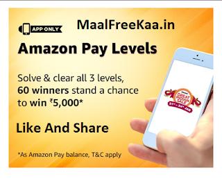 Amazon Pay Level Contest