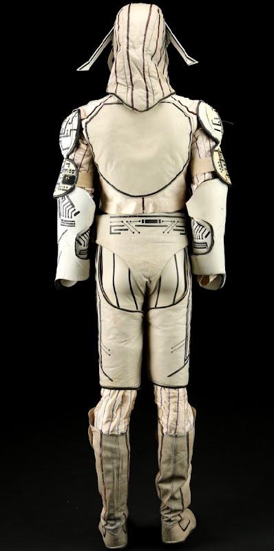 Sark Tron movie costume back