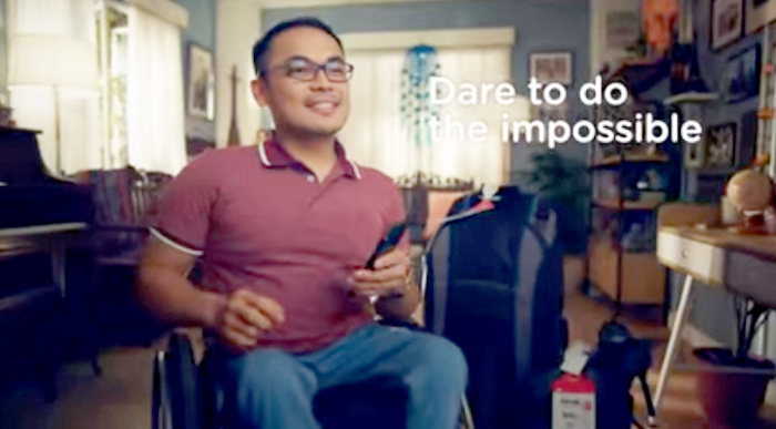 Naprey Almario dared to do the impossible