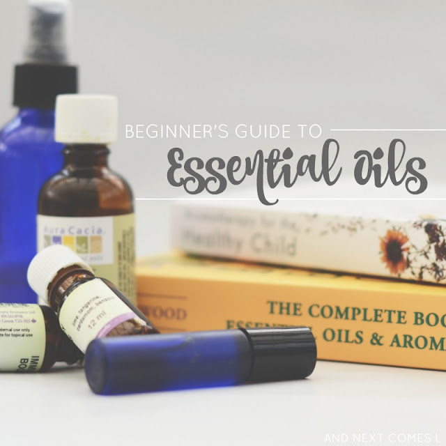 A beginner's guide to essential oils, their safety, and the must have essential oil supplies to get from And Next Comes L