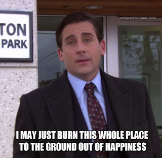 Returning To College As Told By 'The Office'