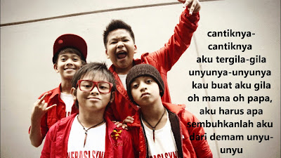 Lirik Lagu Terbaru Coboy Junior ~ Demam Unyu Unyu