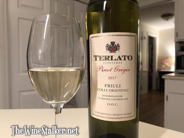 Terlato Pinot Grigio 2017