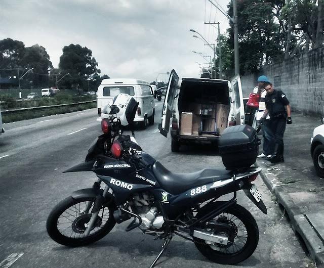 ROMO da GCM de Santo André localiza carga roubada avaliada em mais de 1 milhão de reais