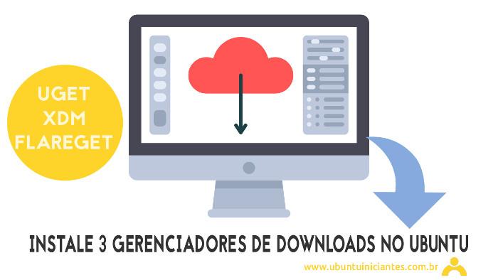 instalar gerenciador de download no ubuntu linux
