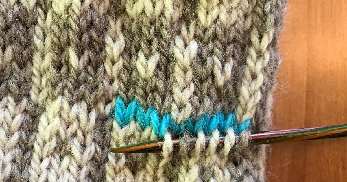 Picking Up Stitches In Knitting Mitten Thumb : Carolyn Knits: THE PICK-UP (Part 2 of 3 - The Afterthought Thumb)