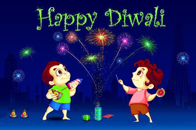 Happy diwali greetings in HD