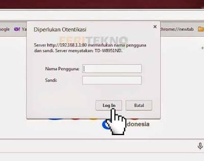 mengganti password wifi speedy 3
