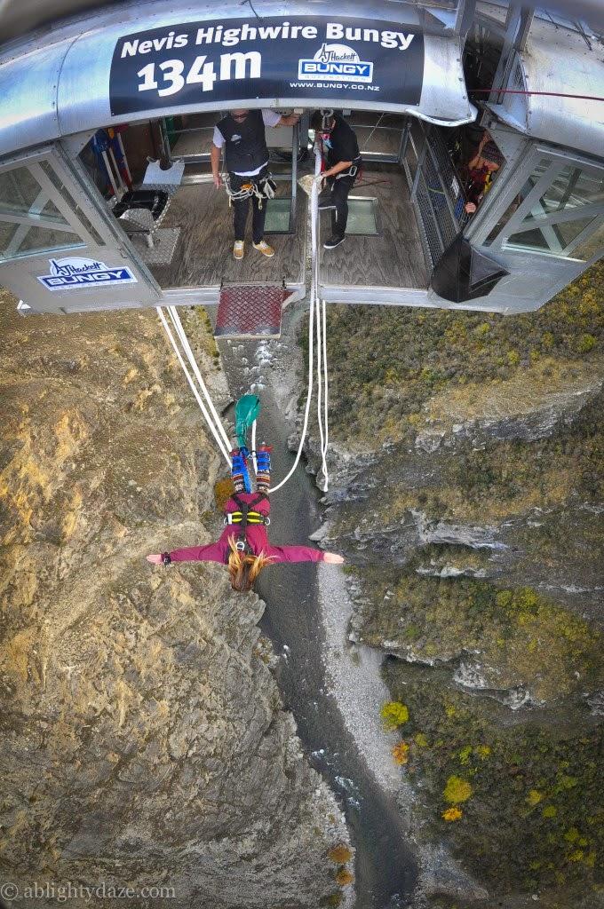 10 Best Adventure Holiday Destinations | Nevis bungee jump in Queenstown, New Zealand
