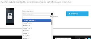 Cara Unlock Bootloader Semu Jenis Smartphone Sony Xperia