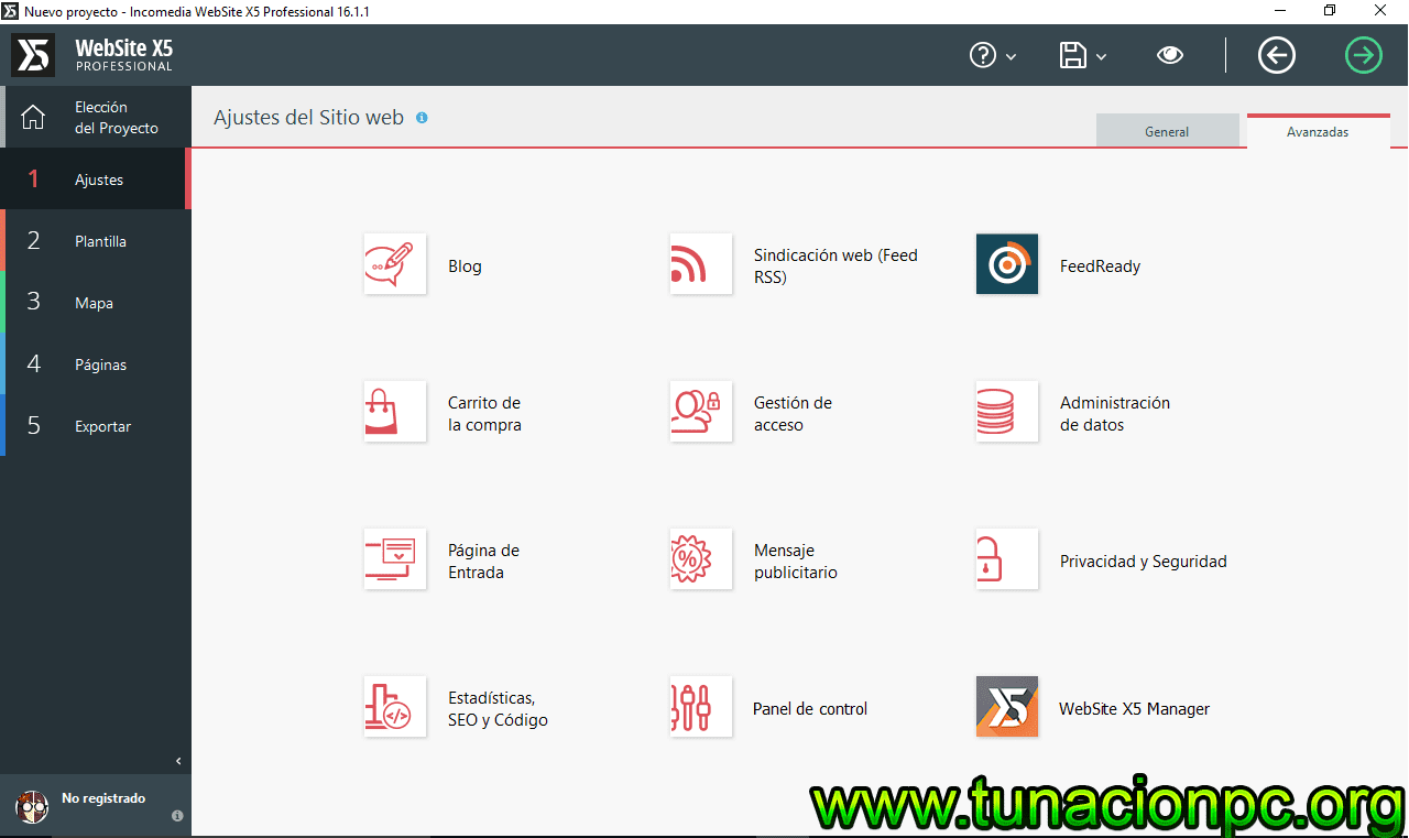 Descargar Incomedia WebSite X5 Professional Full mas Licencias