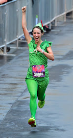 Tinker Bell 10K - dressed as Peter Pan