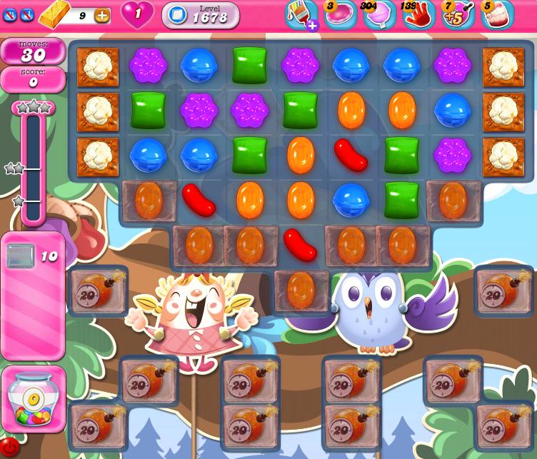 Candy Crush Saga 1678