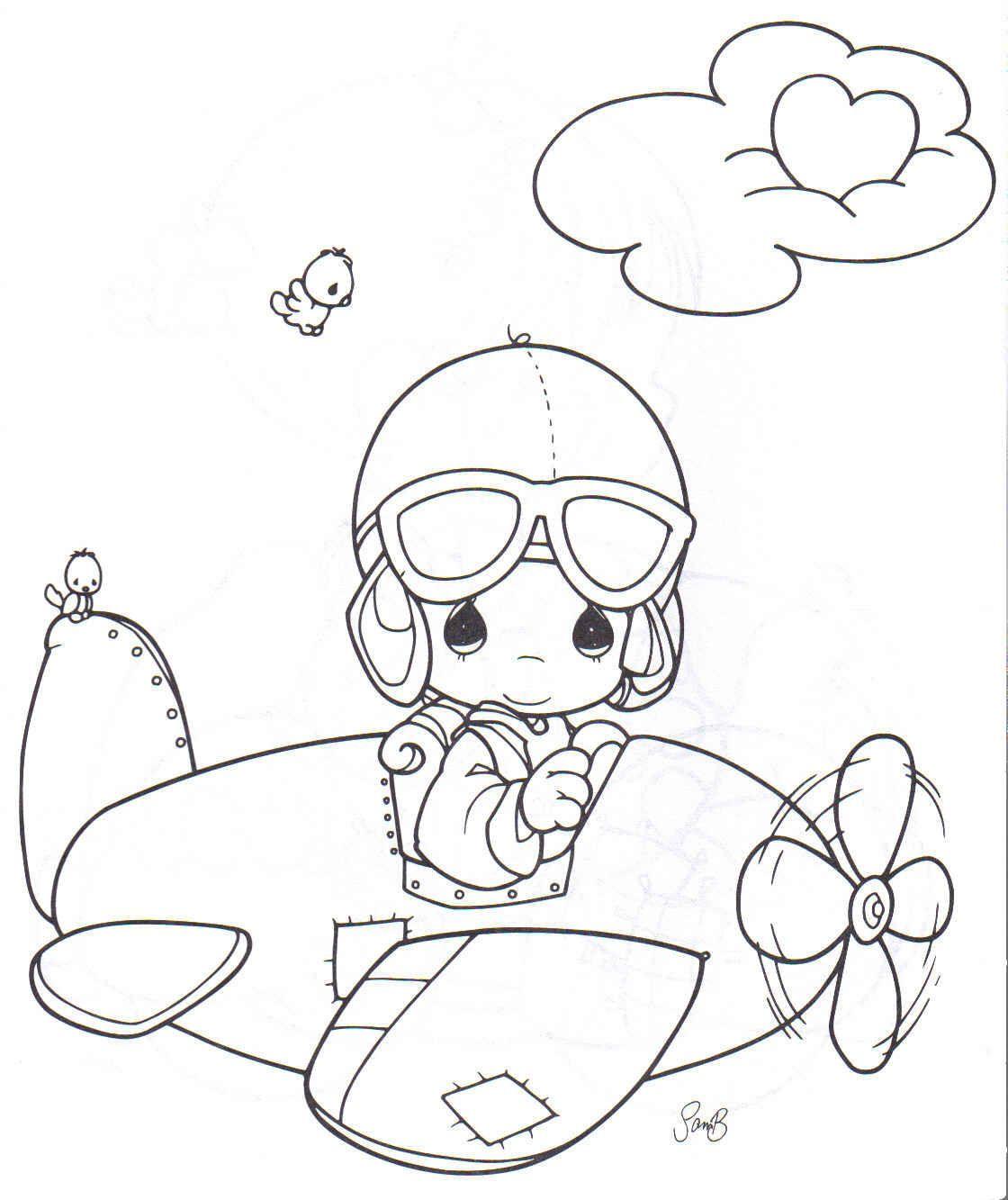 Espaco Educar Desenhos Pintar Colorir Imprimir Letra A Aviao
