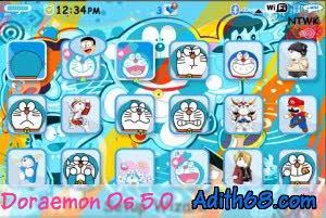 Free Download Theme Doraemon For Blackberry