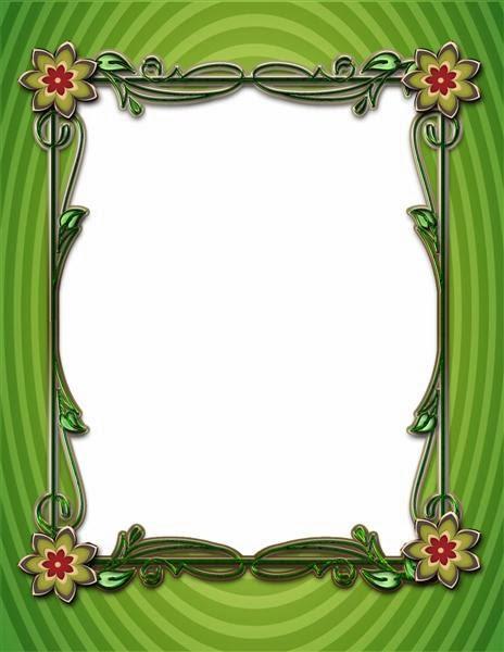 Marco color verde para fotos de cualquier ocasión