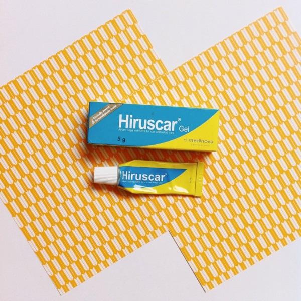 Hiruscar gel trị thâm