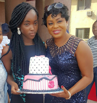 Pictures from Mercy Aigbe Gentry's daughter's birthday 666