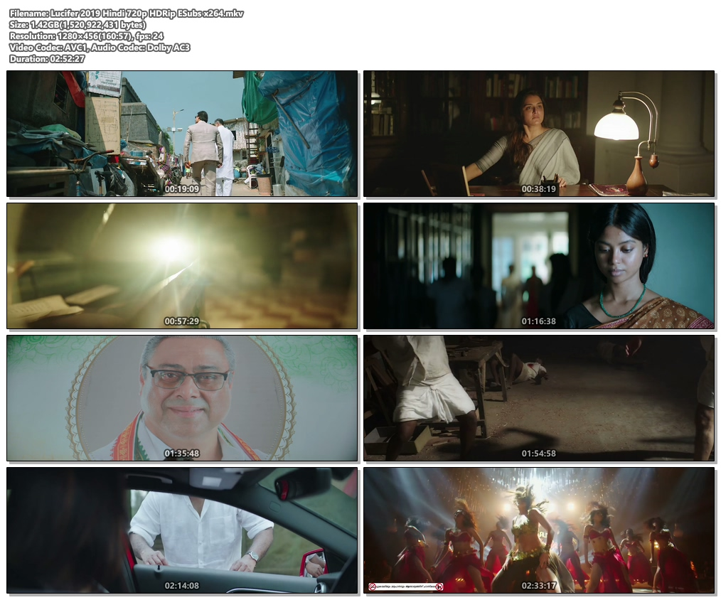Lucifer 2019 Hindi 720p HDRip ESubs x264 | 480p 300MB | 100MB HEVC Screenshot