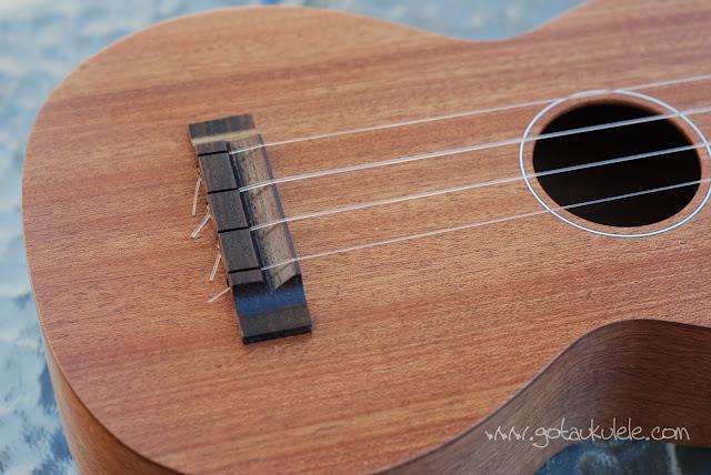 Bruno 6 soprano ukulele body