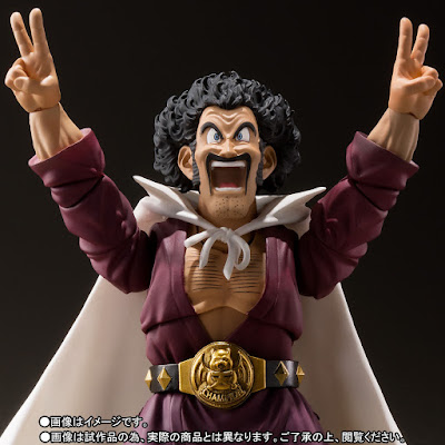 "S.H.Figuarts de Mr. Satan de ""Dragon Ball Z"" - Tamashii Nations"
