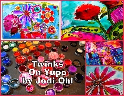 Twinks on Yupo with Jodi Ohl