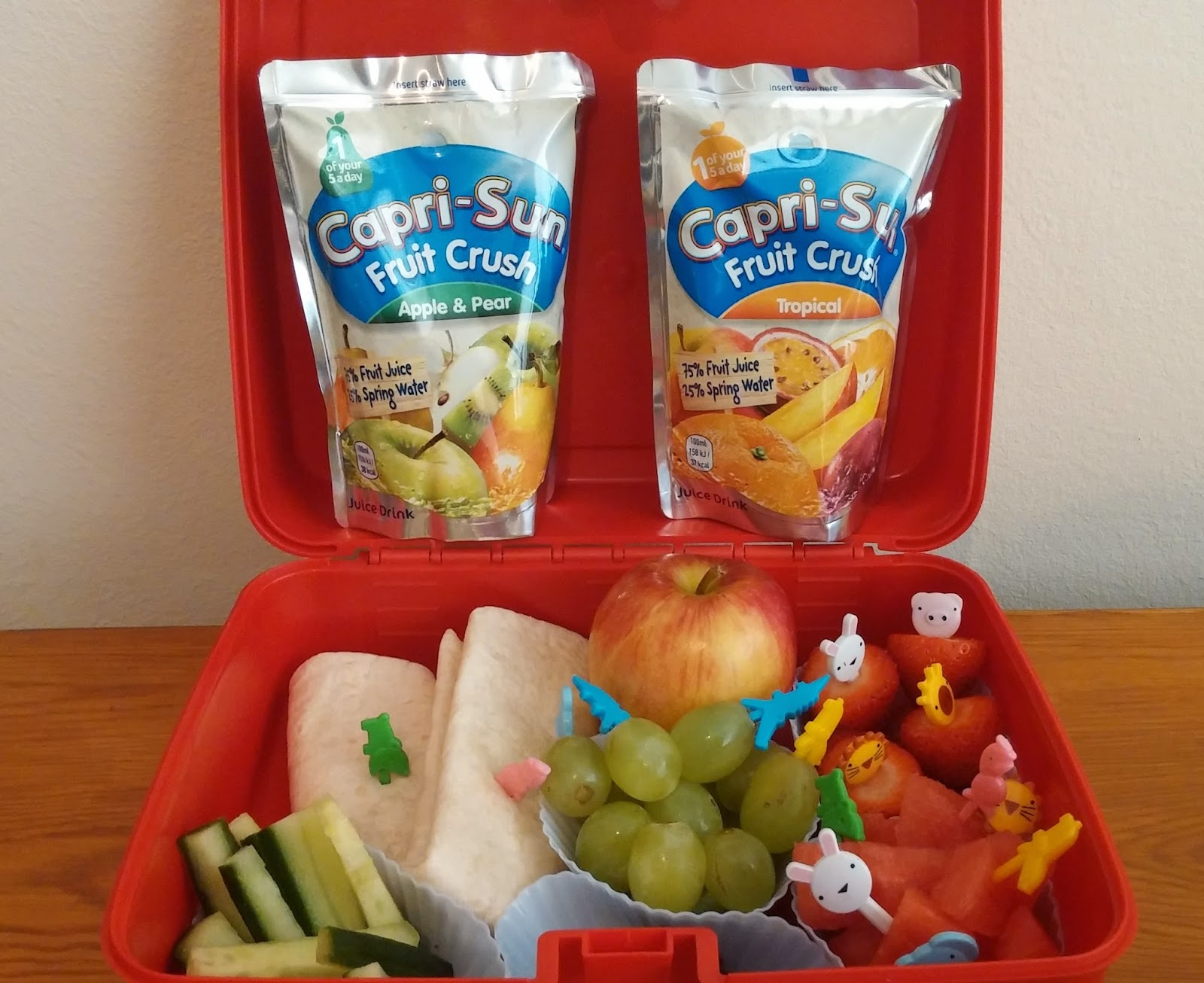 Healthy lunchboxes, Lunchbox ideas, Juice drink, #CapriSunSchool, #cbias, #shop