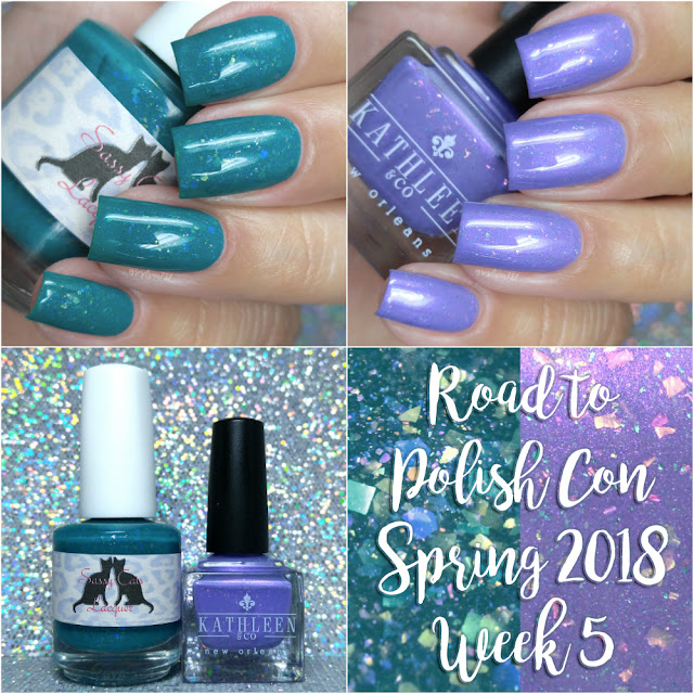 Road to Polish Con Spring 2018 | Week 5 Kathleen & Company + Sassy Cats