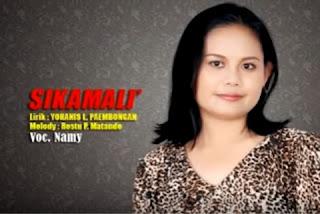 Lirik Lagu Toraja Sikamali' (Namy)