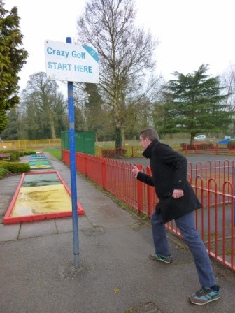 Crazy Golf at Derby's Markeaton Park