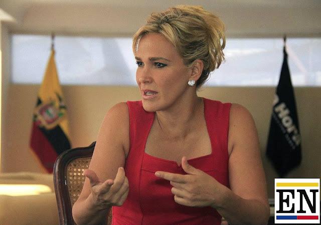 cinthya viteri candidata presidencia ecuador