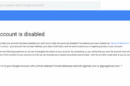 How to Get a Disabled Gmail Account Back