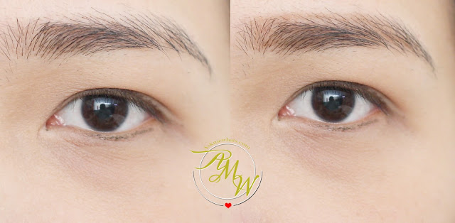 a photo of Jordana FabuBrow Eyebrow Pencil before and after