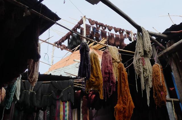 Marrakesch - Souk des Teinturiers