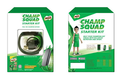 Lazada Malaysia Milo Champion Band Starter Kit Fitness Tracker