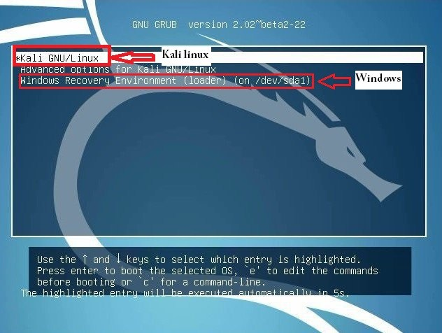 HOW TO DUAL BOOT WINDOWS 10 AND KALI LINUX IN HINDI ~ Technical U First