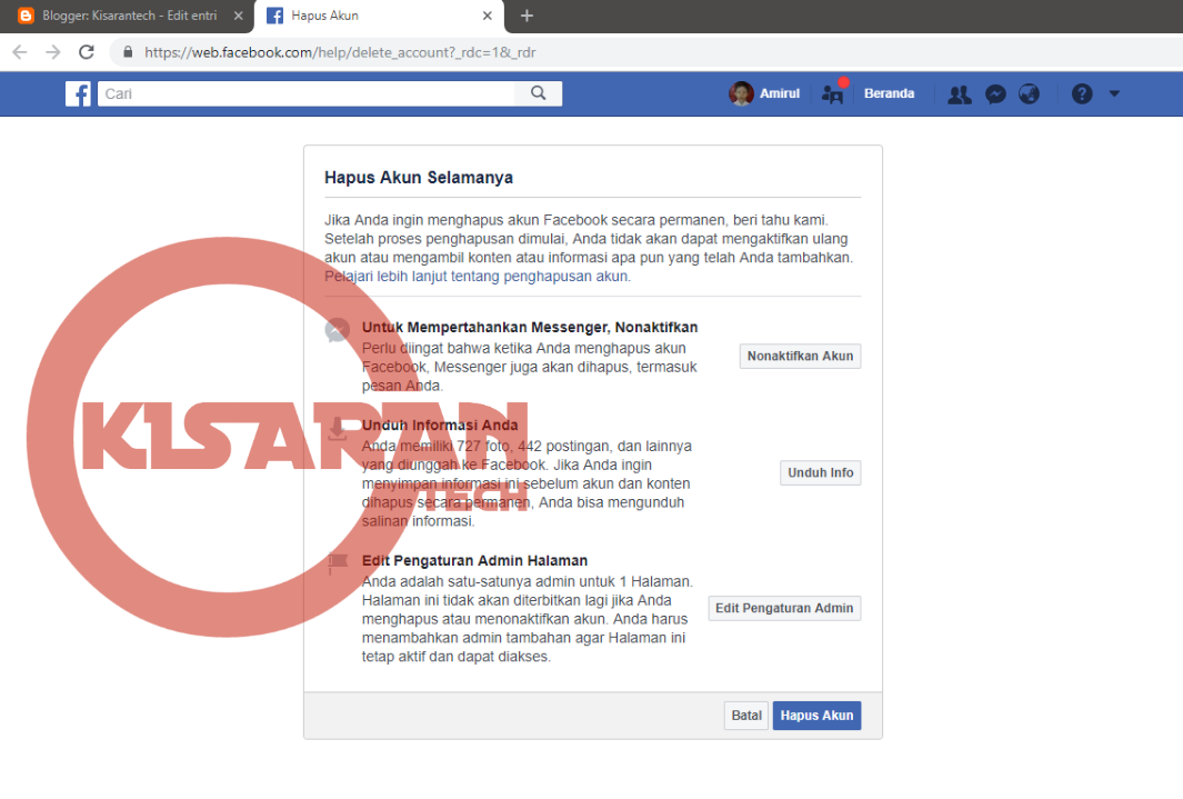 Cara Memblokir Facebook Sendiri Secara Permanen Untuk Selamanya Agar