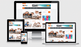 News 52 blogger template Berita