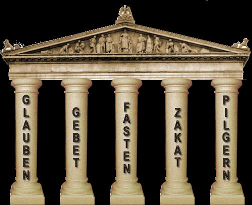 Islam Säulen