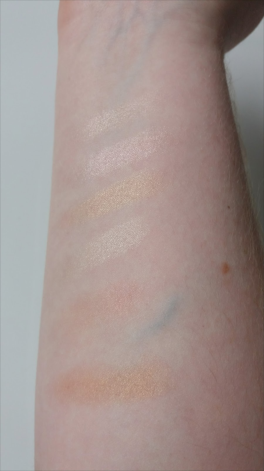 Bellapierre Glowing Palette Swatches