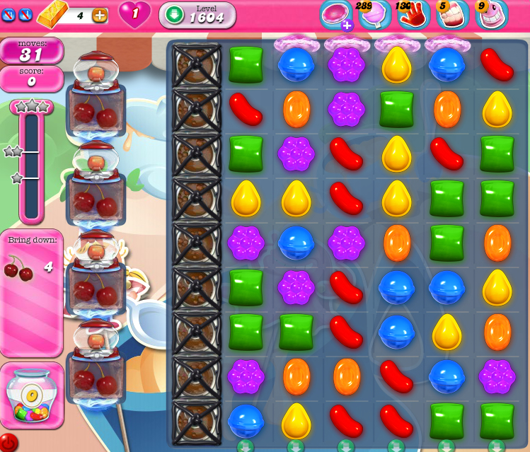 Candy Crush Saga 1604