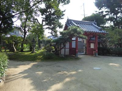 佐太天神宮 南側にある神門