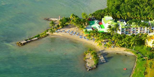 L'Hotel Canella Beach Hotel du Gosier en Guadeloupe
