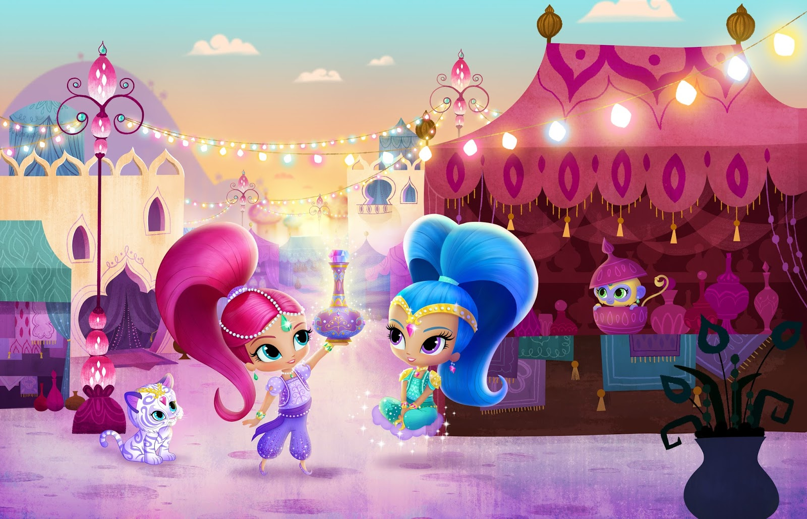 Nickalive Nick Jr Uk To Debut Shimmer And Shine On