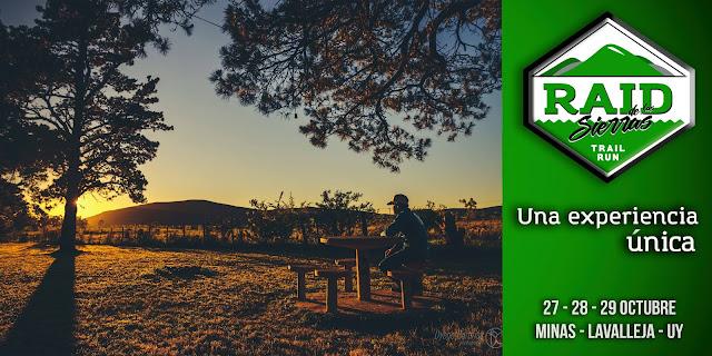 Raid de las sierras - Trail run en 3 días en parejas (Minas y Aguas Blancas - LAV, 27a29/oct/2917)