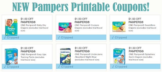 graphic relating to Printable Pampers Coupons referred to as Excessive Couponing Mommy: Refreshing Pampers Diapers Printable Discount coupons