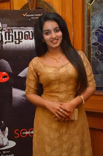 Actress Malavika Menon Stills At Nijama Nizhala Movie Audio Launch  0005.jpg