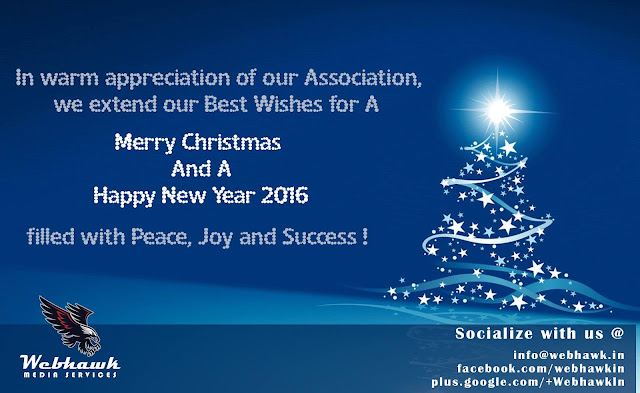 Merry Christmas and Happy New Year - WebHawk Media Services